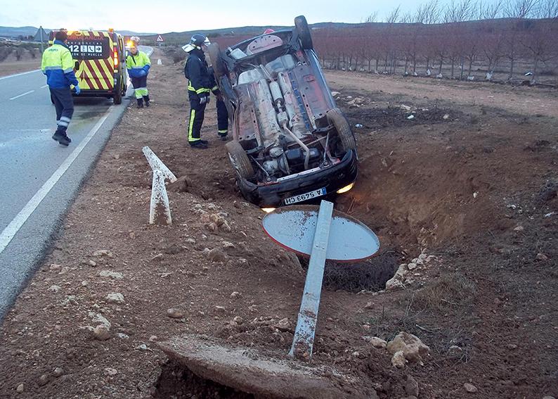 accidente en la carretera de montealegre