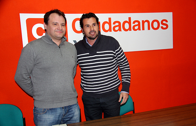 Ciudadanos Yecla, antonio Puche Mario Gómez