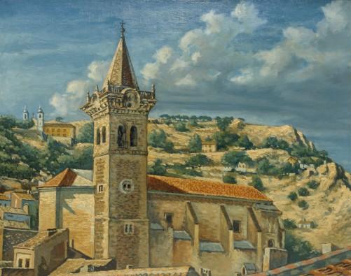 Iglesia Vieja desde la terraza (Fernando Carpena)