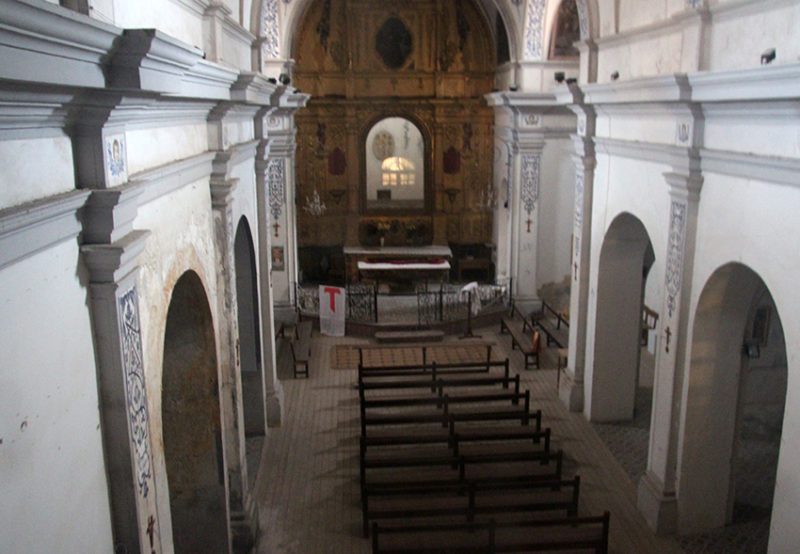 capilla de la virgen de las angustias