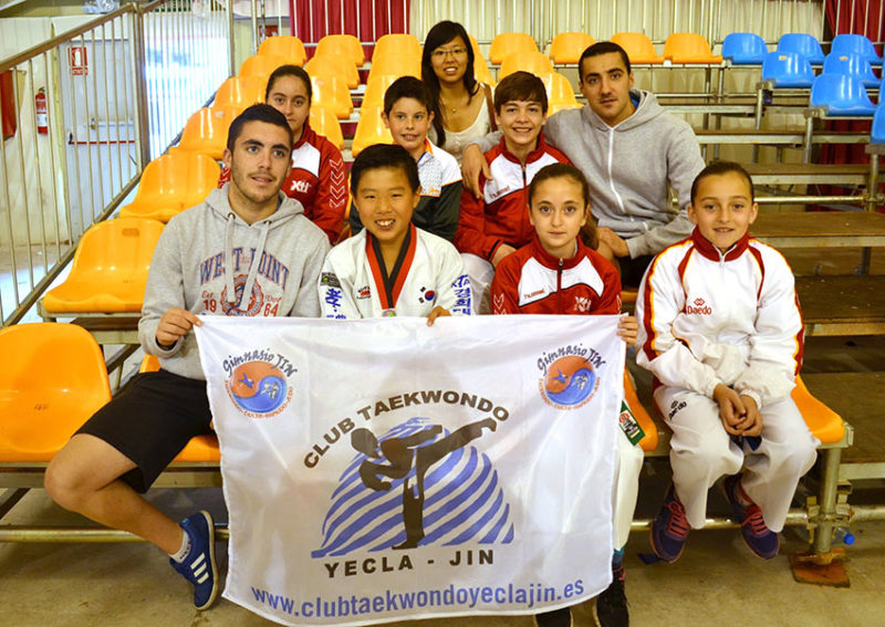 Buena participaci n del club taekwondo yecla jin for Gimnasio yecla
