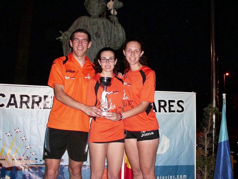 atletas del Hotel La Paz