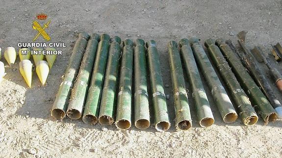 cohetes granizo yecla
