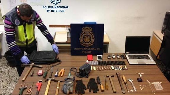 detención robos