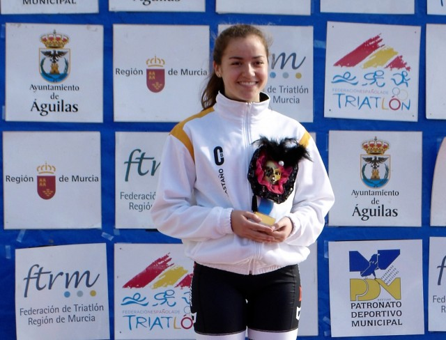 beatriz ortin club triatlon duatlon arabí yecla