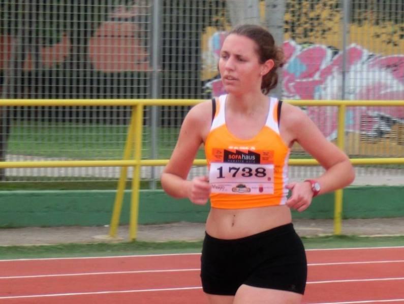 Marta Martinez - campeonato 1500 y subcampeonato 800