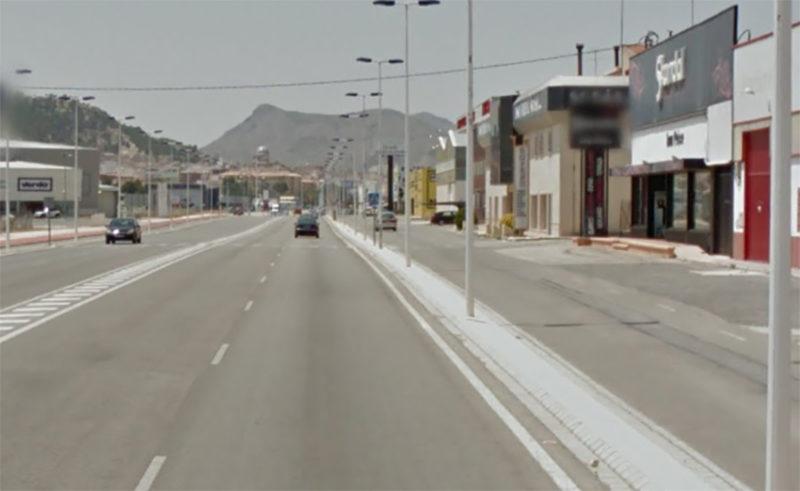 carretera de villena