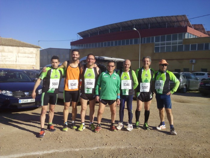 Madrigueras fondistas - media maraton