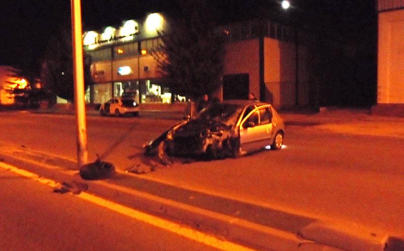 conductora accidente avenida paz