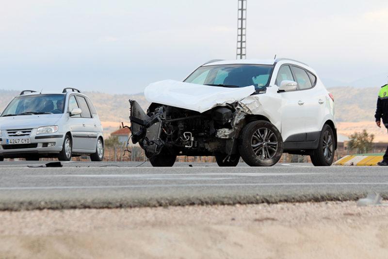 impacto accidente
