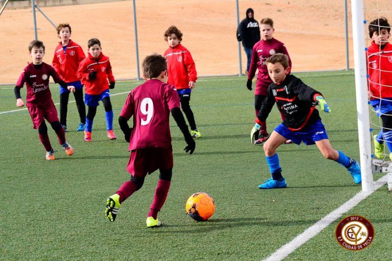 benjamin campeón escuela ciudad yecla futbol