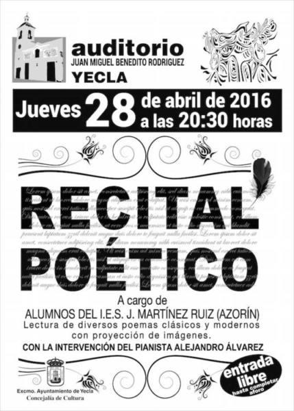 carteles auditorio recital.fh11