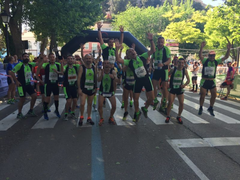 Almansa fondistas media maraton