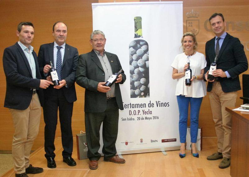 certamen de vinos de la DO Yecla