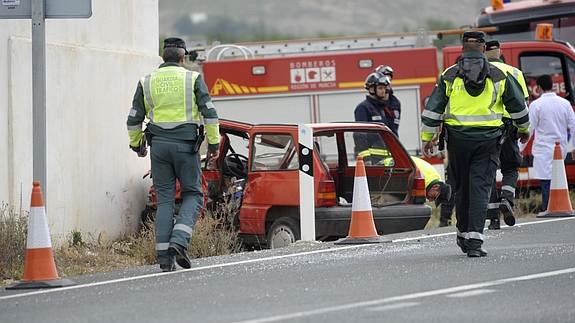 accidente La Alquería