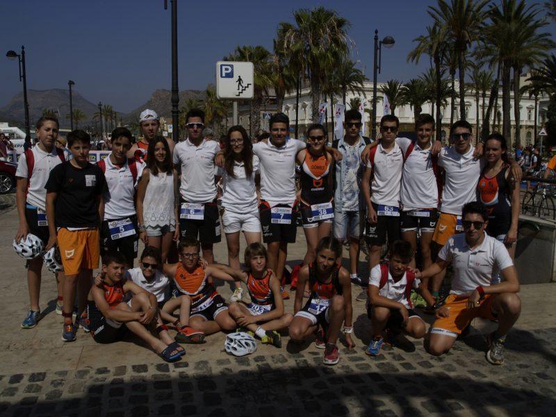 triatlon en cartagena triatletas