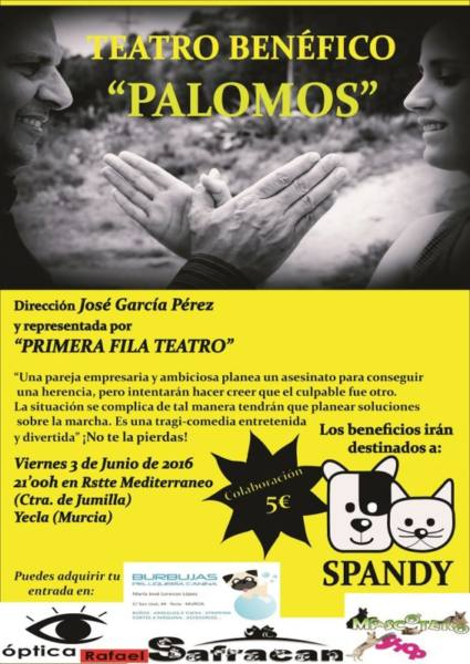 cartel palomos spandy