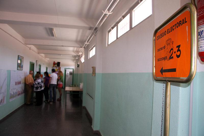 elecciones generales urnas