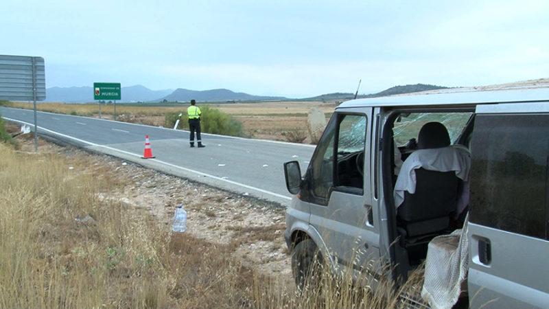 accidente furgoneta