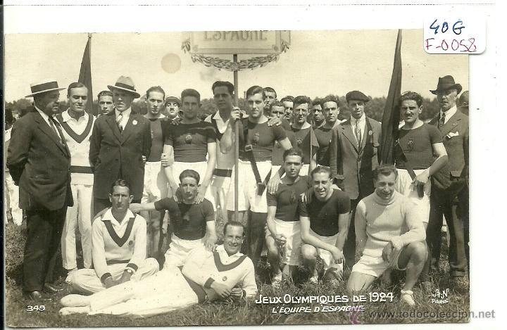 equipo español 1924