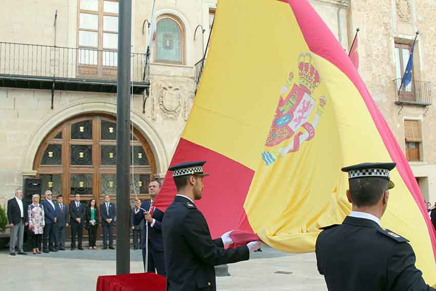 bandera españa juramento