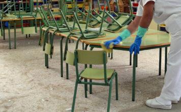 limpieza colegio clece