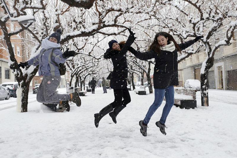 galería de fotos nieve
