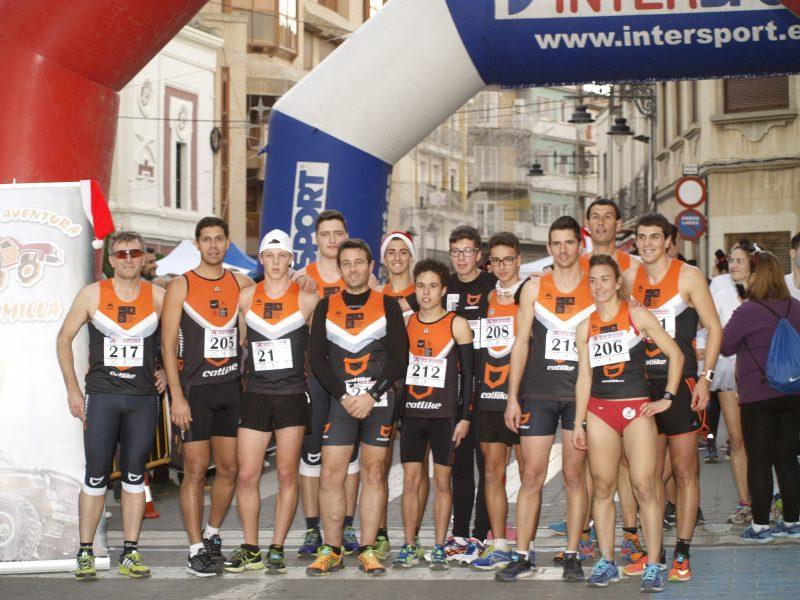 pleno de podios jumilla club triatlón arabí yecla Los triatletas