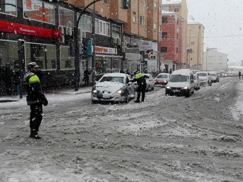 colapso nieve