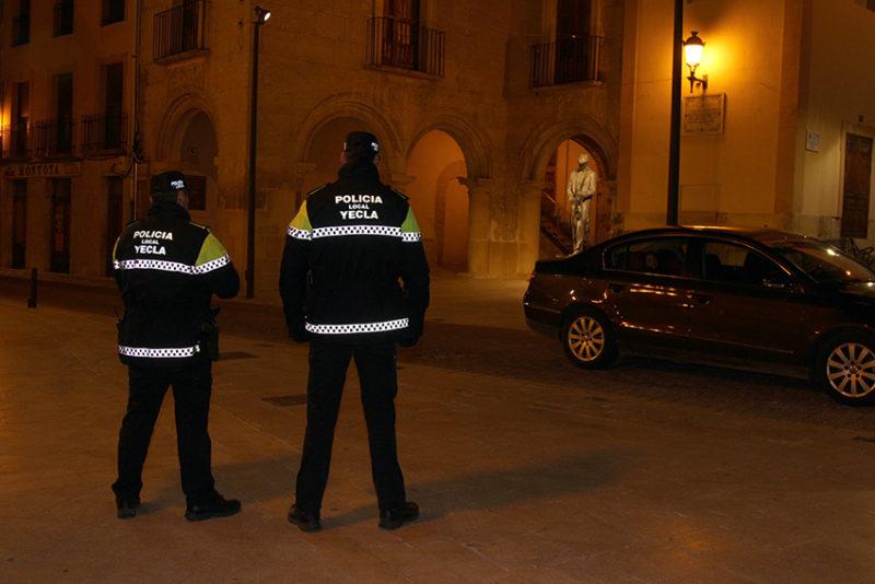 policía local yecla agentes denuncias