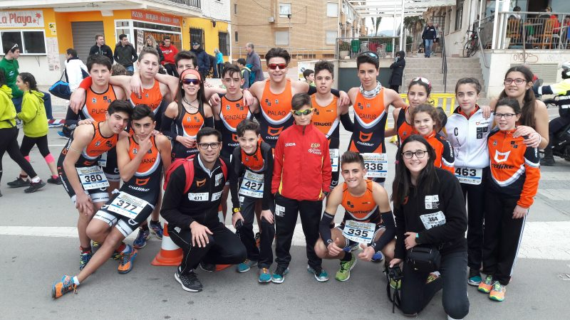 menores club triatlon arabi yecla