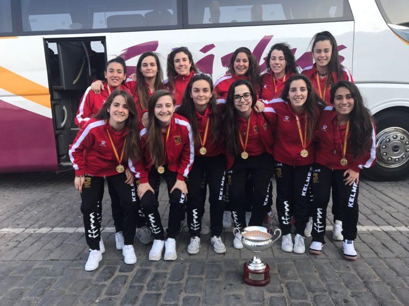 campeona de españa seleccion murciana sub 21