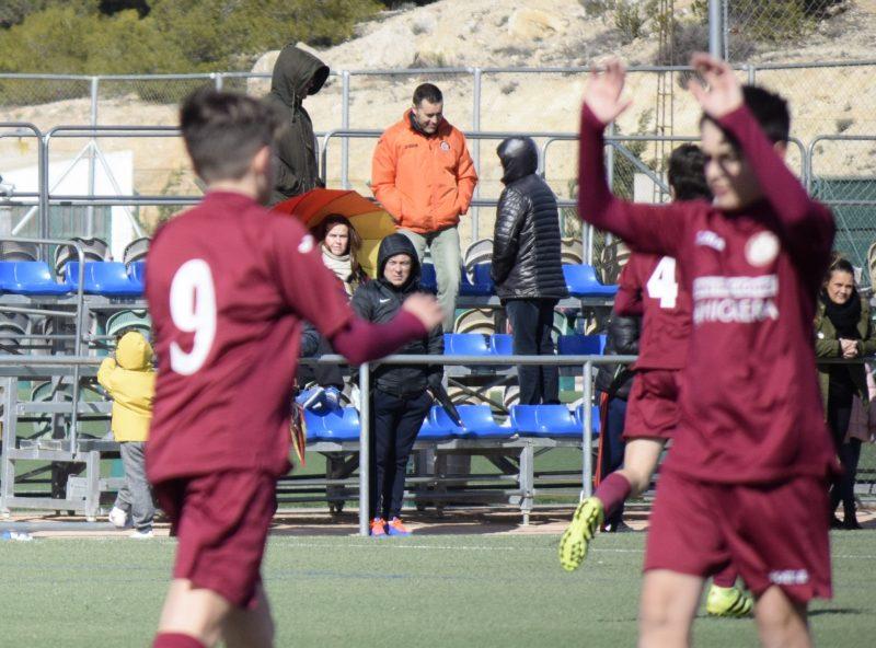 escuela futbol ciudad yecla jumilla empates victorias