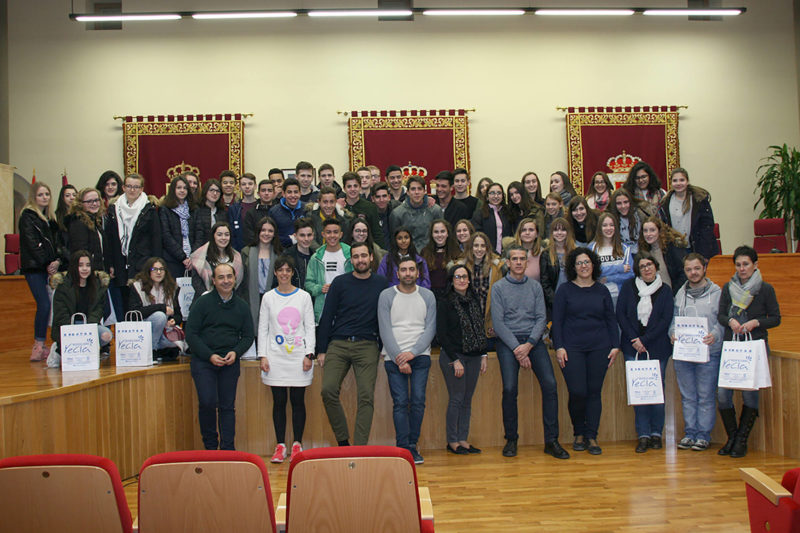 alumnos franceses