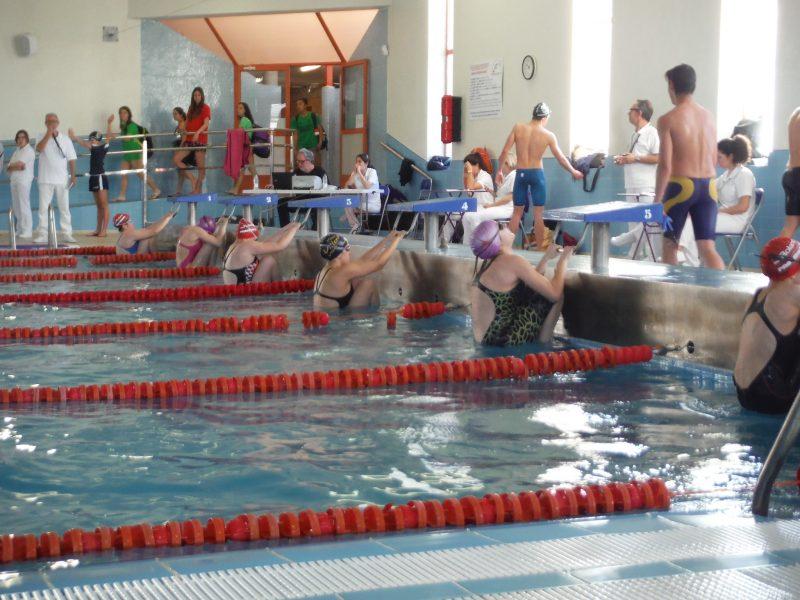 nadadores club natación yecla