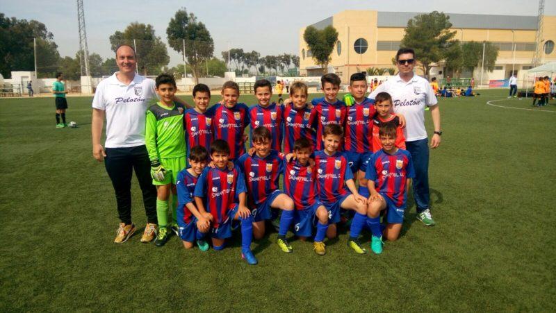 torneos semana santa alevin B sociedad deportiva futbol base yecla