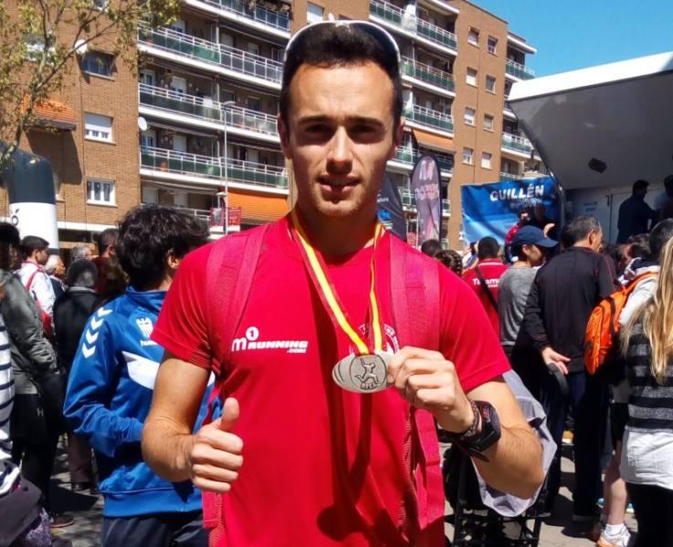 barcelona iván lópez subcampeón de marcha