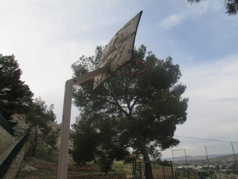 canastas pistas baloncesto