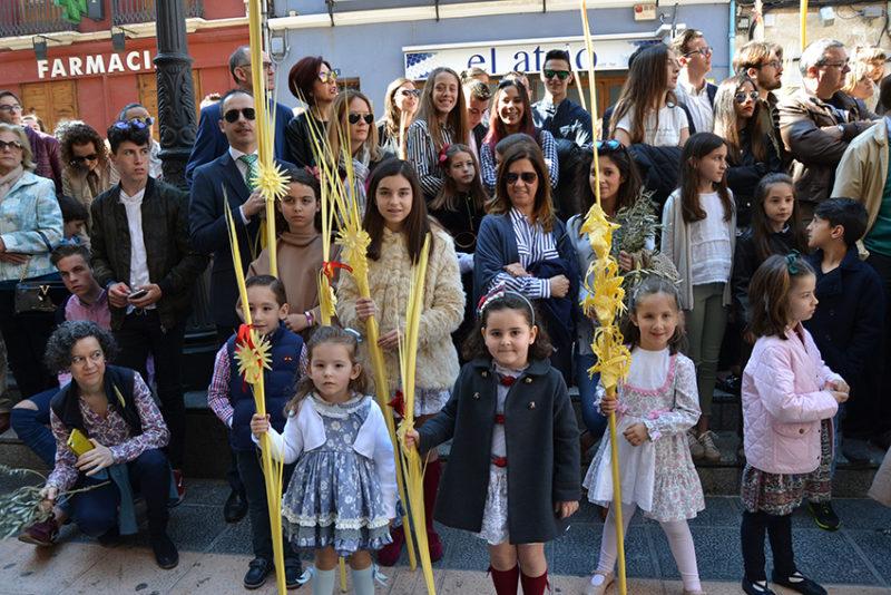 procesión palmas burrica