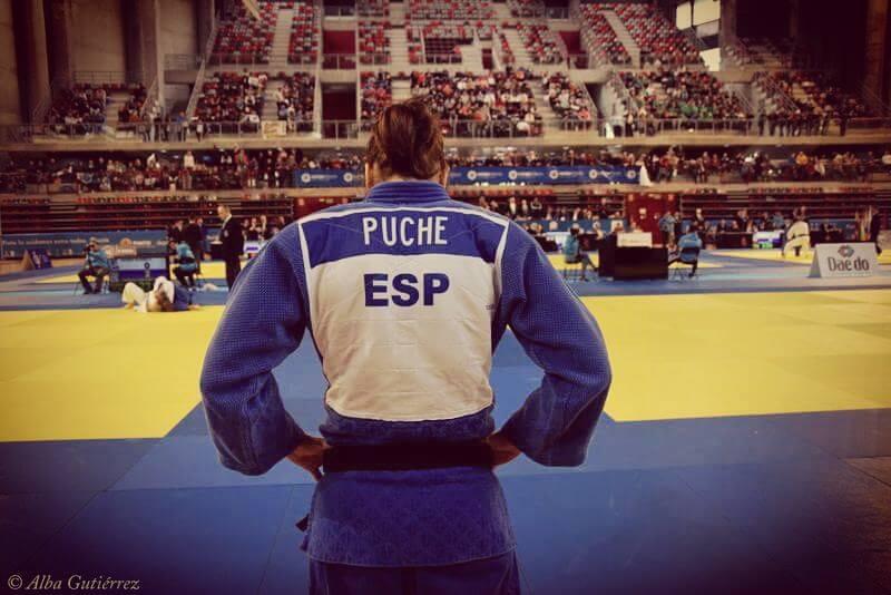 maría isabel puche judoka campeonato españa bronce