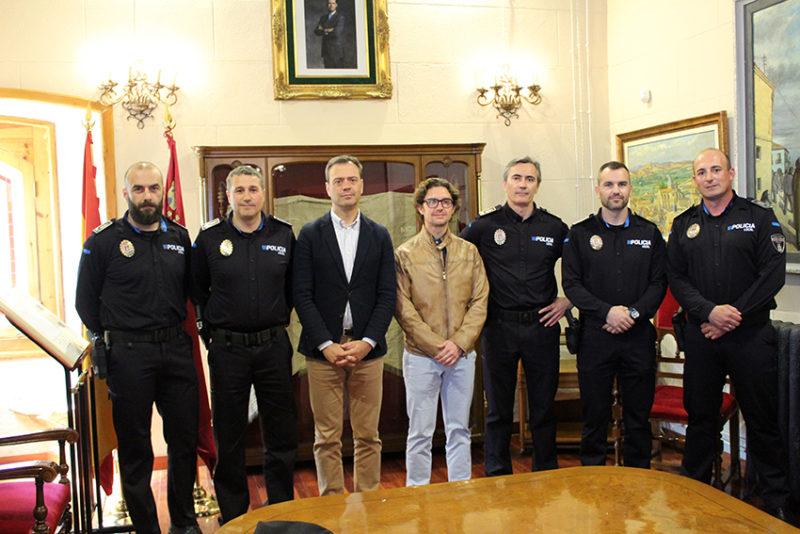 oficiales policía local