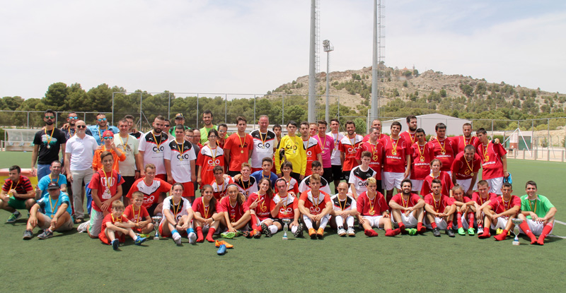 futbol 7 inclusivo yecla
