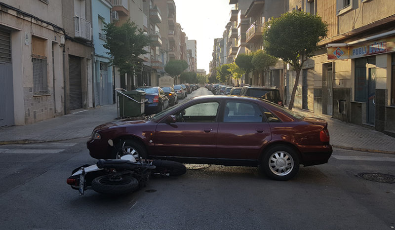 motoristas accidente