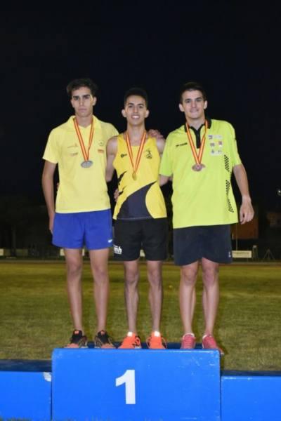 alejandro ortuño bronce campeonato españa junior