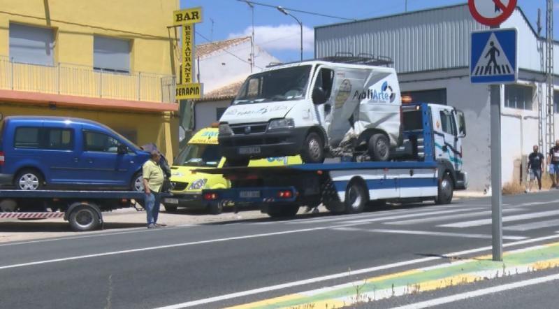 accidente alqueria nacional 344 tres heridas