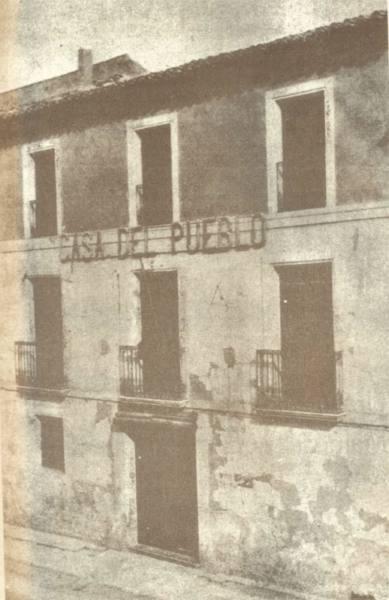 casa del pueblo yecla sebastián pérez