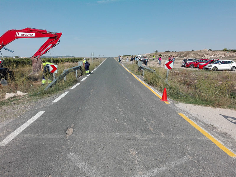 carretera de Fuente Álamo