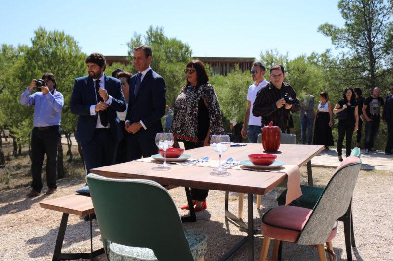 inauguración feria del mueble yecla 2017 lópez miras