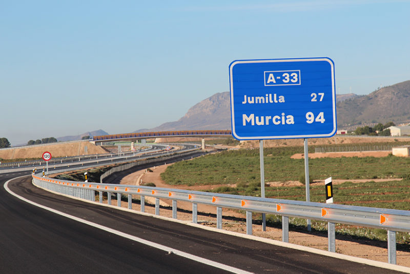 autovía Yecla