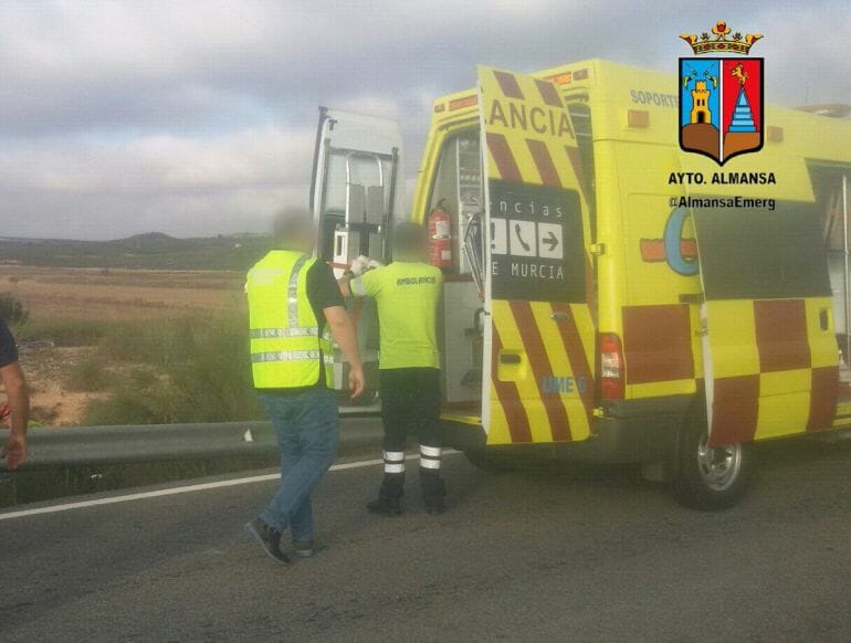 accidente ciclista Albacete